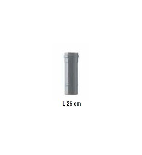 Dimovodna cijev za pelet fi 80mm 25cm